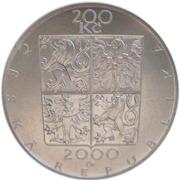 200 Korun (Zdenek Fibich) – avers