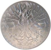 200 Korun (New Millennium) – revers