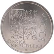 200 Korun (Kilián Ignác Dientzenhofer) – avers