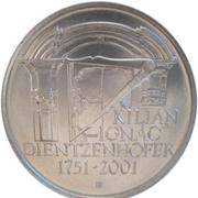 200 Korun (Kilián Ignác Dientzenhofer) – revers