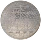 200 Korun (Earth satellite) – avers