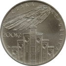 200 korun (Josef Hlávka) – avers