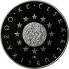 200 Korun (Presidency Eu) – avers