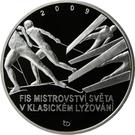 200 Korun (Nordic World Ski Championships in Liberec) – revers