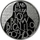 200 Korun (Rabi Jehuda Löw ben Becalel) – revers