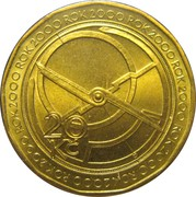 20 Korun  (astrolabe) – revers