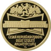 2000 Korun (Czech architecture - Cubism) -  avers