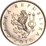 1 koruna -  avers