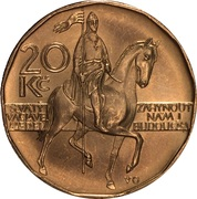 20 korun – revers