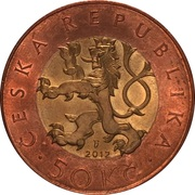 50 korun -  avers