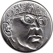200 Korun (Josef Kainar) -  revers