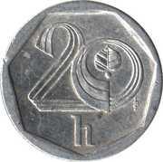 20 haléřů -  revers
