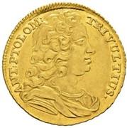 1 ducat -Antonio Tolomeo Trivulzio Gallio – avers