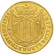 1 ducat -Antonio Tolomeo Trivulzio Gallio – revers