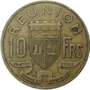 10 francs -  revers