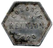 10 centimes (Département français d'outre mer) – avers