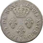 3 sols - Louis XVI – avers