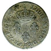 3 sous - Louis XVI – avers