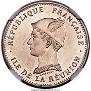 50 centimes (Essai) – avers