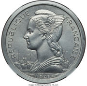 1 franc (Piedfort Essai) – avers