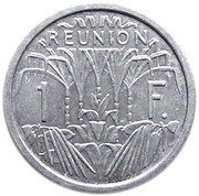 1 franc (Union française) – revers