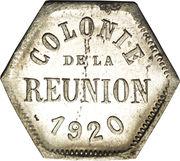 5 centimes (Département français d'outre mer) – avers