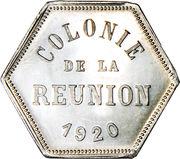 25 centimes (Département français d'outre mer) – avers