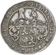 ¼ Thaler - Heinrich II. (Décès) – avers