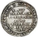 ¼ Thaler - Heinrich II. (Décès) – revers