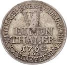 ⅙ Thaler - Heinrich XXIV. – revers