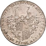 1 Thaler - Heinrich XXIV. (Konventionstaler) – revers