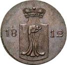 2 Pfennig - Heinrich LI. – avers