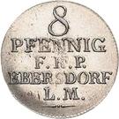8 Pfennig - Heinrich LI. – revers