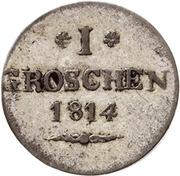 1 Groschen - Heinrich LI – revers