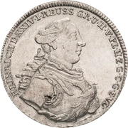 ⅔ Thaler - Heinrich XXIV – avers