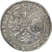 1 Thaler - Heinrich II. (Lobenstein ; Posthume) – revers