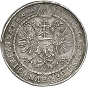 1 Thaler - Heinrich IV. and Heinrich V. – revers