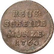 1 pfennig Heinrich II. – avers