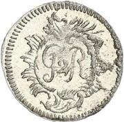 6 pfennig Heinrich II – avers
