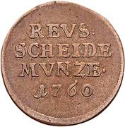 2 Pfennig - Heinrich II – avers