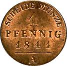 1 Pfennig - Heinrich LXXII – revers