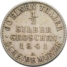 ½ Silbergroschen - Heinrich LXXII – revers