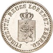 1 Silbergroschen - Heinrich LXXII – avers