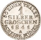 1 Silbergroschen - Heinrich LXXII – revers