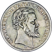 2 Mark - Heinrich XXII – avers