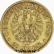 20 Mark - Heinrich XXII – revers