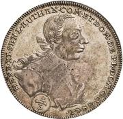 ⅔ Thaler - Heinrich XI. (Ausbeute) – avers
