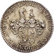 ⅙ Thaler - Heinrich XI. – avers