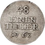 1/48 Thaler - Heinrich XI. – revers