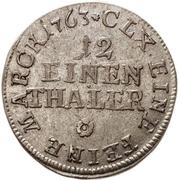 1/12 Thaler - Heinrich XI. – revers
